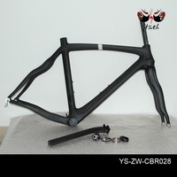 100% super bike class raw carbon fiber imported toray t700 t800 mixed best carbon fiber road bicycle frame