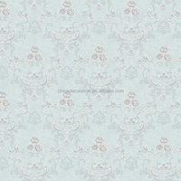 High grades interior wallpaper with small flower pattern