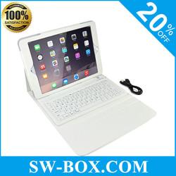 China alibaba wireless bluetooth keyboard leather case for iPad 6