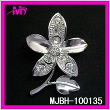 Wholesale rhinestone brooch for wedding bridal MJBH-100135