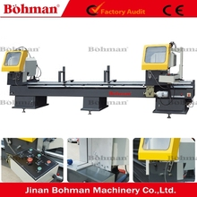 LJZ2-450*3700 Twin-head Window Cutting Machine for Aluminum Windows and Doors for 45 / 90 Degree