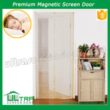 Easy use Maigc mesh anti insects snap screen door