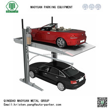 two post vehicle parking equipment, double deck parking lift