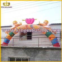 Customized Angels Inflatable Entrance Archway, Cheap Inflatable Arhway For sale
