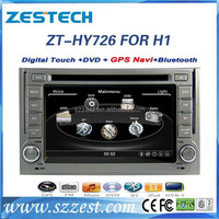 ZESTECH 2 din touch screen gps oem car dvd player for Hyundai Grand Starex Royale gps navigation