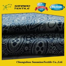 SANMIAO Brand best quality factory direct fleece in one side printed fabric WHCP-2001