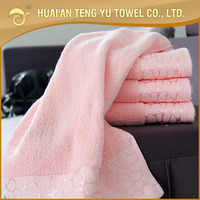 100% pakistan cotton new design luxury bath towel for christmas gift