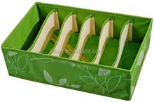 Fashion Colourful Underwear Storage Boxes Wholesale Socks Organizer Box With Handle