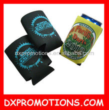 foldable beer can holder/neoprene cooler bag/promotional can cooler