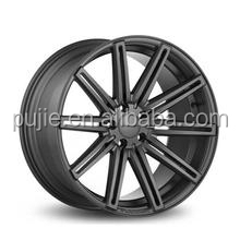Aftermarket cv4 overall matt black, black wheels 17 inch for sale with high performance