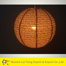 Diameter 16 inches cloth holiday decorative lantern