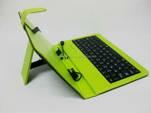 2015 hot Universal&Popular 7 inch tablet pc leather keyboard case