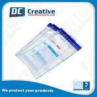 Self-seal Security Plastic Money Bags