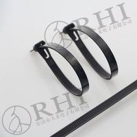 UV Nylon cable tie machine flexible round cable tie