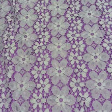 white color fashionable African bridal lace fabriccan bridal lace fabric TH-8827