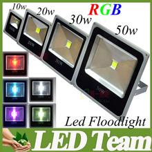 12V LED Flood Light 10W/20W/30W/50W Warm White/White/RGB LED Floodlight Outdoor Lighting 3year warranty CE UL CSA SAA