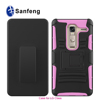 Heavy Duty Rubberized Mobile Phone Holster Cover Cases For LG Class With Belt Clip