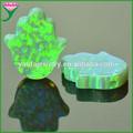 sintético de alta calidad verde de la mano de ópalo de fuego