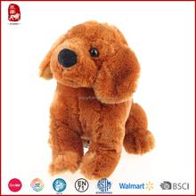 Cute realistic dog plush toy stuffed animal