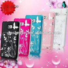 for samsung galaxy s2 i9100 butterfly hot selling IMD tpu design case