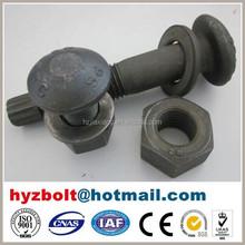 12.9 Grade standard size bolt and nut, nut/bolt, bolt