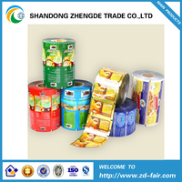 Manufacturer Supply Food Packaging Plastic Film Roll