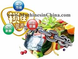 Vacuum sealing machine Plastic Wrap Packaging Machine Cling Film Packaging Machine Food Cling Film Machine