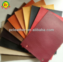 Modern furniture design pvc synthetic leather color custom
