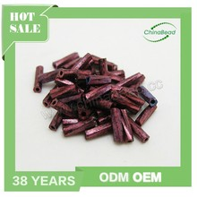 Fashion small glass beads wholesale, glass twist beads seed beads in strands