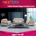 Las ventas caliente sofá de cuero, i en forma de sofá de cuero de diseño simple a698