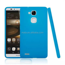 Perfect feel touch design ,pc tpu duplex style cover case for HUAWEI M7
