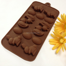 silicone baking cups duck rubbits Dining&Bar Candy&Pastry Head key Chocolate Silicone cake Molds moulds