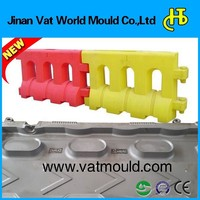 super accurate large demanded road barrier blow mould