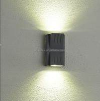 led tube light 6w LED outdoor garden lamp 2700-6500K IP54 bulkhead wall light up down illumination
