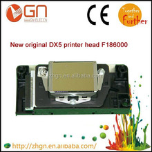 F186000 original solvent gold head 1st lock DX5 print head with decoder card for EPSON R1900/R2000/R2880 Pro-4880/7880C