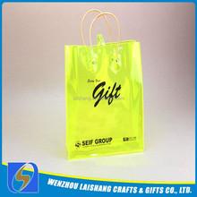 2014 factory custom hot sale clear pvc plastic handbags for promotiom
