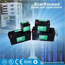 ISO CE certificated 12v lead acid dry battery pack