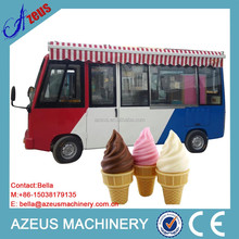 Outdoor Mobile Catering Truck To Sell Food