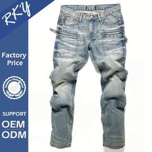 Custom Design Quick Dry Jeans Pants Embroidery