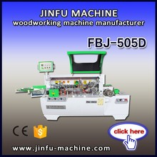 FBJ-505D low price manual end trimming semi auto wood edge banding machine