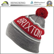 Fashion Winter Hat Custom Pom Pom Knitted Hat/Cap