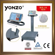 Stainless steel price computing platform scale/weight measuring instruments YZ-808