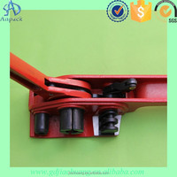 Manual Steel Strapping Band Tool Metal Strapping Tensioner and Sealer for tape width 12-50mm