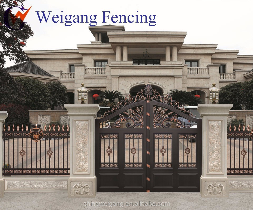 Design Of Compound Wall Gate : Wall compound buy metal gate designs for