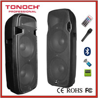 Dual 15'' 12A Battery Outdoor Dancing Vibration Speaker