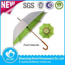 albero di legno dritto gancio j promozionali ombrello ombrello ombrello struttura di legno