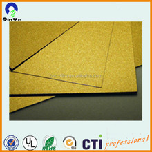 Golden colourful PVC no laminating sheet for ID cards