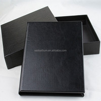 Black cd/dvd case with eco-friendly plastic cd tray