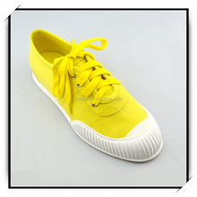 china man made cheap plain white canvas shoes for women