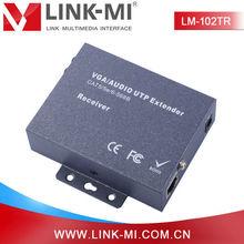 LINK-MI LM-102TR video audio transmission system, UTP VGA extender 200m